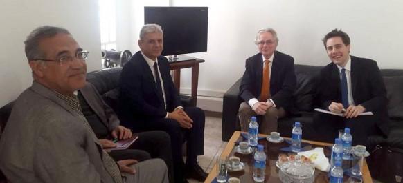 RCD: L'ambassadeur d'Allemagne à Alger reçu par Mohcine Belabbas