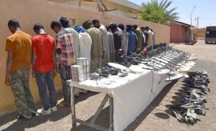 Crime organisé: 23 Contrebandiers arrêtés à Tamanrasset