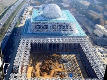 Grande mosquée d'Alger : Les travaux s'accélèrent