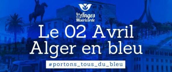 «Alger en bleu» pour célébrer la journée internationale de l'autisme