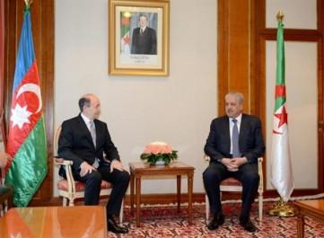Sellal reçoit le ministre azerbaïdjanais de la Justice