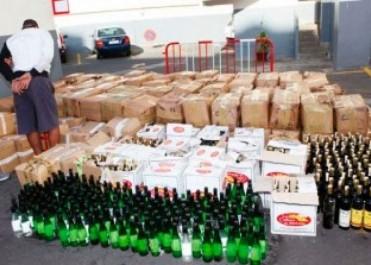 11 milliards de centimes de boissons alcoolisées saisis à Tizi Ouzou