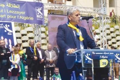 Il a animé un meeting à la Fin de la marche du RCD à Tizi Ouzou: Mohcine Belabbas plaide pour la régionalisation