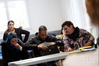 Une famille algérienne déportée de France