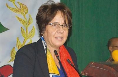 Ghania Idalia, ministre du gouvernement, en fait partie : Les candidats du FLN agressés à Blida