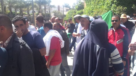 Skikda: Sit-in de travailleurs diplômés de Sonatrach