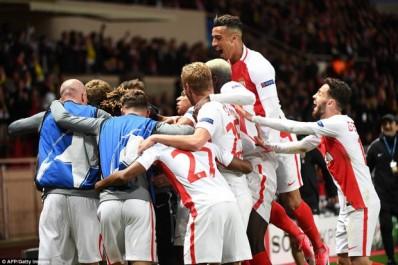 L'AS Monaco en patron face au Borussia Dortmund