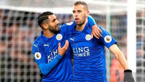 Mahrez sur le banc, Slimani titulaire  face à Everton ?
