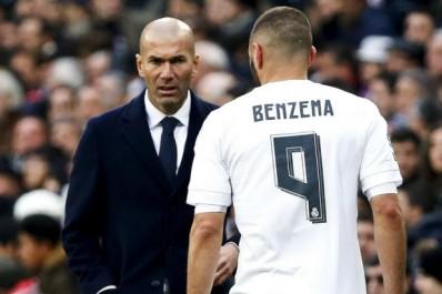 Real : Zidane défend encore et toujours Benzema