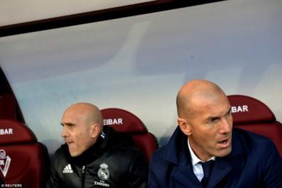 Real – Zidane :»Une erreur de toute l'équipe»