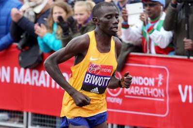 Marathon de Londres: Doublé kényan, Bekele 2e