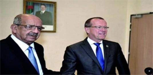 Martin Kobler reçu par Messahel à Alger: «Il n'y a que le dialogue politique qui compte»
