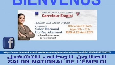 Ouverture du Salon national du recrutement et de l'entreprenariat «Carrefour emploi 2017» En l'absence des entreprises publiques et des concessionnaires autos