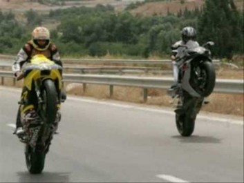 Guelma: L'escorte-motos d'un cortège nuptial effraye les riverains