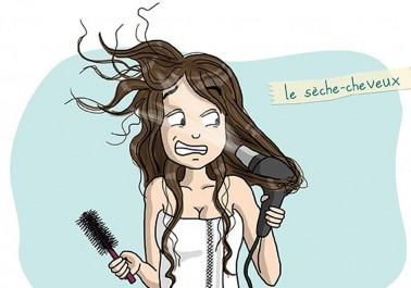 Les pires ennemis des meufs aux cheveux longs