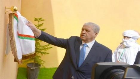 Sellal inaugure une usine de traitement de gaz à Hassi-Moumène