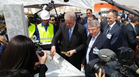 Total lance la réalisation de son usine de lubrifiants en Algérie