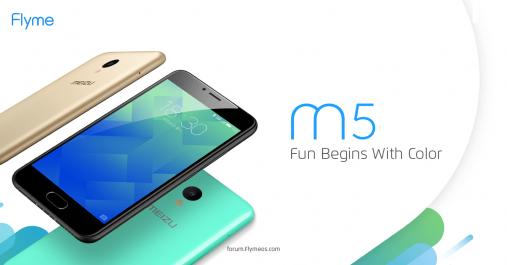 Meizu lance le M5 en Algérie : Un Smartphone Full 4G