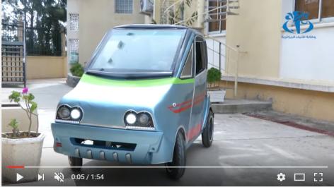 Un chercheur du CDER réalise une voiture électrique