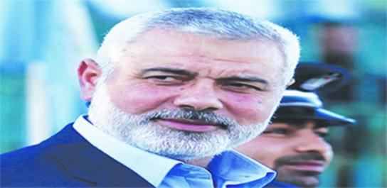 Après la charte à polémique sur les territoires palestiniens occupés: Hanyeh nouveau président du Hamas