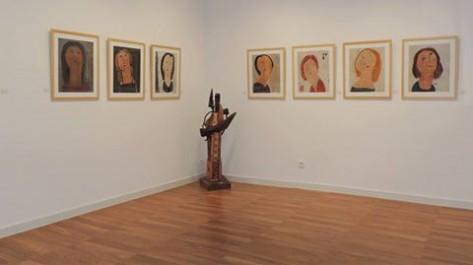 Seen Art Galery «L'homme jaune s'expose» pour la première fois