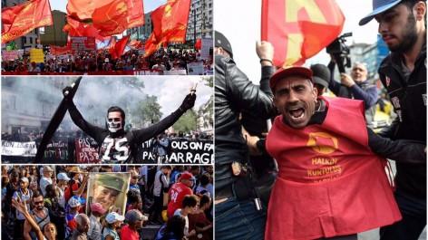 Manifestations et arrestations : des célébrations du 1er mai tendues à travers le monde