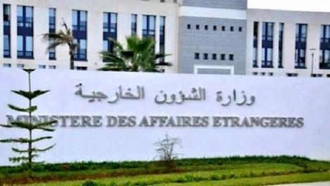 Prétendue agression d'un diplomate marocain par un diplomate algérien: une «piètre mise en scène d'une médiocre pièce de théâtre» (MAE)