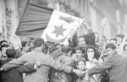 Massacres du 8 mai 1945, marche à Sétif : le sang dans la rue