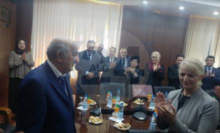 Photos- Abdelmadjid Tebboune quitte le ministère de l'habitat