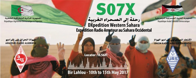 Expédition Radio Amateur au Sahara Occidental