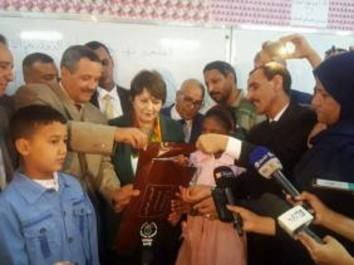 Examen de fin de cycle primaire : le coup d'envoi donné à Béchar par la ministre de l'Education nationale