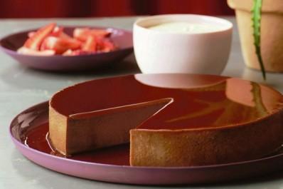 Crème caramel au chocolat