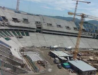 Tizi Ouzou: Les travailleurs du nouveau stade en grève