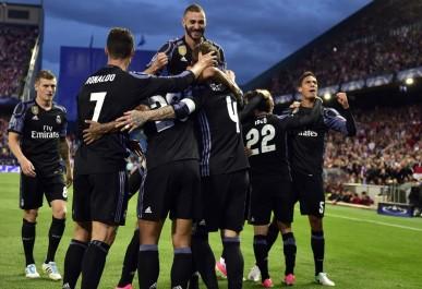 Ligue des champions: avec un excellent Benzema, le Real résiste à l'Atlético et peut rêver du doublé