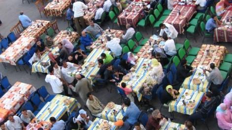 Solidarité Ramadhan:  Ouverture de 30 sites d'iftar
