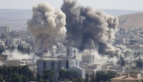 Syrie: 472 civils tués par les raids de la coalition internationale depuis un mois