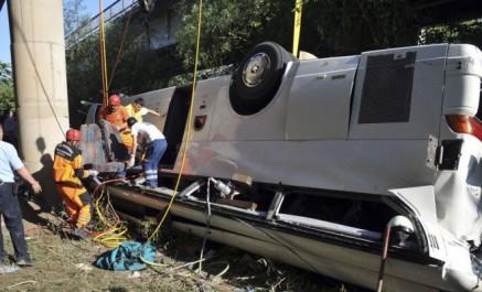 Turquie: 20 morts et 13 blessés dans le renversement d'un bus touristique