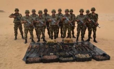 Lutte antiterroriste : une cache d'armes et de munitions découverte à in guezzam