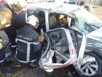 Ain Defla: Quatre morts et 8 blessés dans 2 accidents de la route