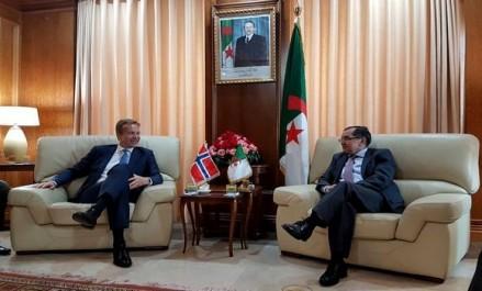 Boutarfa et le ministre norvégien des AE s'entretiennent sur la coopération énergétique