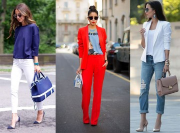 Les couleurs à porter pour un look chic assuré!