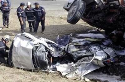 Accidents de la circulation: 40 morts et 1 383 blessés en une semaine
