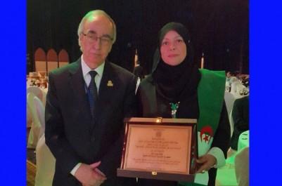 Prix de la banque islamique de développement: Hamida Kettab de l'association El-Amel distinguée