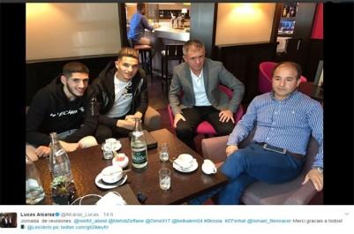 Le coach des verts en tournée européenne:   Alcaraz, Ferhat et twitter