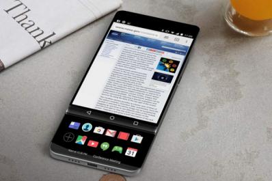 L'étonnant concept de smartphone à écran rétractable de LG