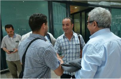 Expulsé par les autorités marocaines, le journaliste d'El Watan Djamel Alilat regagne l'Algérie