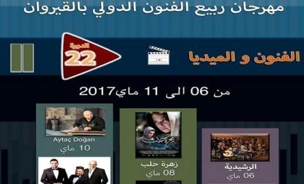 Bouzid Harzallah et Abdou Deriassa au 22e Festival des Arts du Printemps à Kairouan
