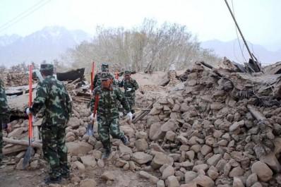 D'une magnitude de 5,4: Chine: un séisme fait huit morts dans le Xinjiang (nord-ouest)