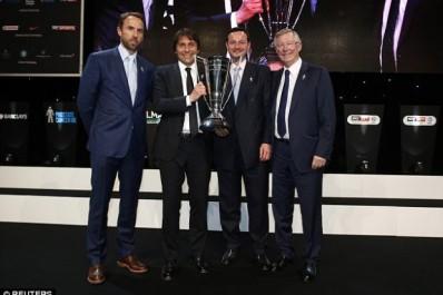 Chelsea : Conte désigné entraineur de l'année en Premier League
