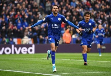 Leicester City : Un nouveau record pour Mahrez